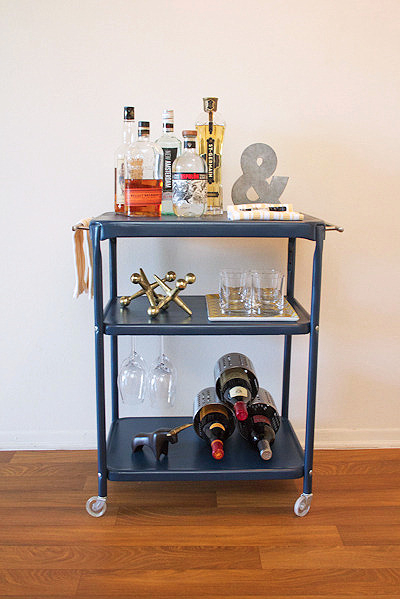 FancyFreeMe blue cart